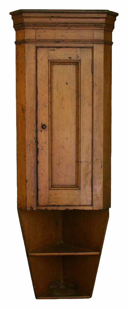 Early Hanging Corner Cupboard Sheridan Loyd Antiques - Corner Cupboard - Dig Antiques